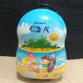 Vali nhựa kéo 17inch qùa tặng Enfa A+