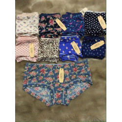 Bộ 10 quần cotton thun lạnh Thái lan họa tiết