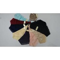Bộ 10 quần lot nữ Cotton phối ren