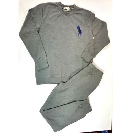 Bộ quần áo nỉ nam Polo ralph lauren màu ghi