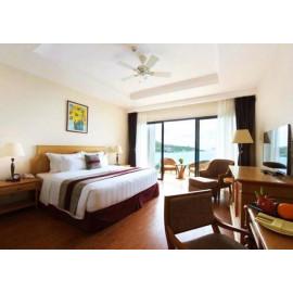 Voucher Nghỉ Dưỡng 2N1Đ phòng Deluxe + Ăn Sáng tại Vinpearl Nha Trang Bay Resort & Villas 5*
