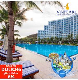 Voucher Nghỉ Dưỡng 2N1Đ phòng Deluxe + Ăn 3 bữa + Vinpearl Land tại Vinpearl Nha Trang Bay Resort & Villas 5*