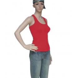 Áo tập yoga ba lỗ màu đỏ