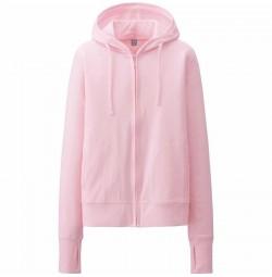 Áo chống nắng uniqlo màu hồng nhạt