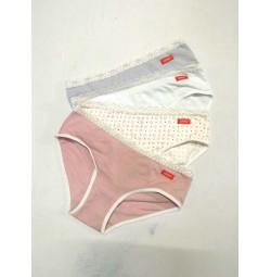 Bộ 4 quần lót bé gái lưng ren
