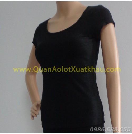 Áo Yoga 8001 màu đen
