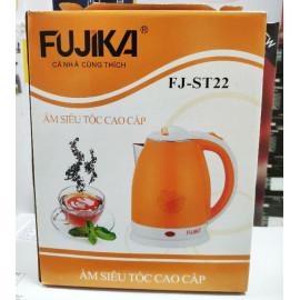 Ấm đun nước siêu tốc Fujika 2 lớp cách nhiệt ruột Inox dung tích 1.8L FJ-ST22 hàng chính hãng, bảo hành 12 tháng