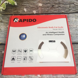 Cân sức khỏe phân tích chỉ số cơ thể Rapido RSF01 - Hàng Chính Hãng