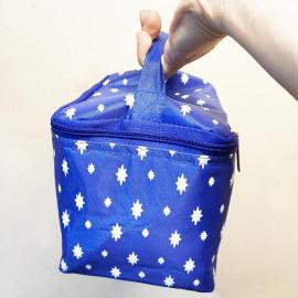 Bộ hộp thủy tinh 715ml, hộp chia ngăn 1000ml và túi giữ nhiệt Glasslock hình sao
