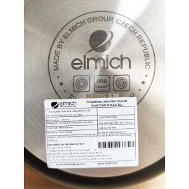 Chảo nhôm chống dính cao cấp đáy từ Full Induction Elmich Nero Premium 20cm EL-3771
