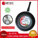 [SALE] Chảo nhôm chống dính cao cấp đáy từ Full Induction Elmich Nero Premium 28cm EL-3774