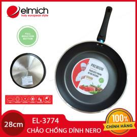 Chảo nhôm chống dính cao cấp đáy từ Full Induction Elmich Nero Premium 28cm EL-3774