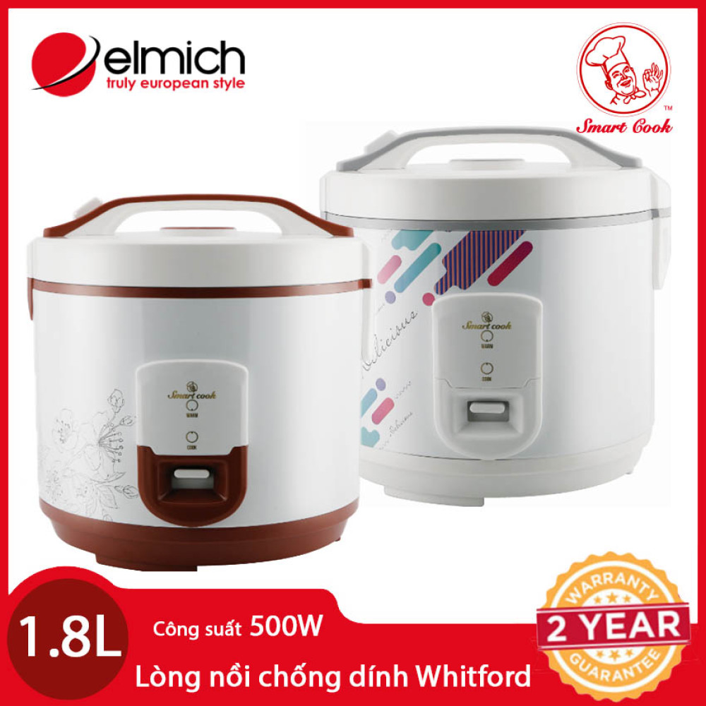 Nồi cơm điện Elmich Smartcook 1,8 LÍT RCS-1794 chính hãng, bảo hành 12 tháng