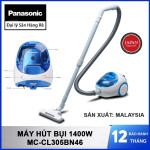 Máy hút bụi Panasonic MC-CL305BN46 1400W sản xuất Malaysia - Hàng chính hãng, bảo hành 12 tháng