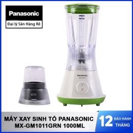 Máy xay sinh tố Panasonic MX-GM1011GRN hàng chính hãng, dung tích 1 Lít màu xanh lá, bảo hành 12 tháng