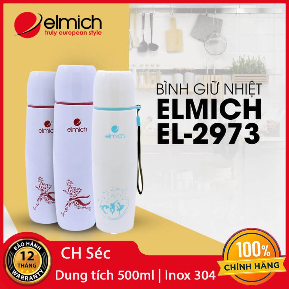 Bình giữ nhiệt lưỡng tính dung tích 500ml Elmich Themos EL-2973 xuất xứ CH Séc chính hãng, bảo hành 12 tháng
