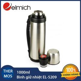 Bình giữ nhiệt 1000ml inox 304 Elmich EL5209 xuất xứ CH Séc, bảo hành 12 tháng