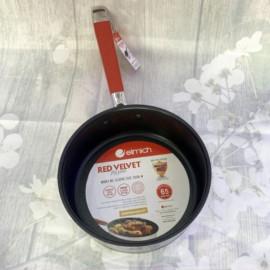 Chảo chống dính Inox 304 Elmich Red Velvet đường kính 20cm EL-3249 xuất xứ CH Séc - Hàng chính hãng