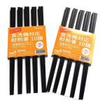 Set 10 đôi đũa kháng khuẩn Shikisai nội địa Nhật Bản