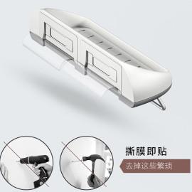 Giá treo đồ dính tường phòng tắm nhà bếp Mengni MNZWJ-338
