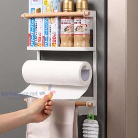 Gía đỡ tủ lạnh, dính tường KM-5559
