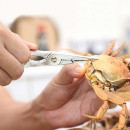 Bộ 2 dụng cụ kẹp tách thịt cua Mengni MN-4018