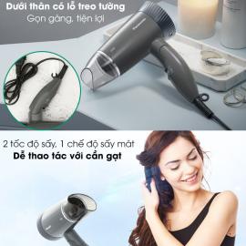 Máy sấy tóc siêu êm cao cấp Panasonic EH-ND57PH645 độ ồn 55dB - Hàng chính hãng, bảo hành 12 tháng