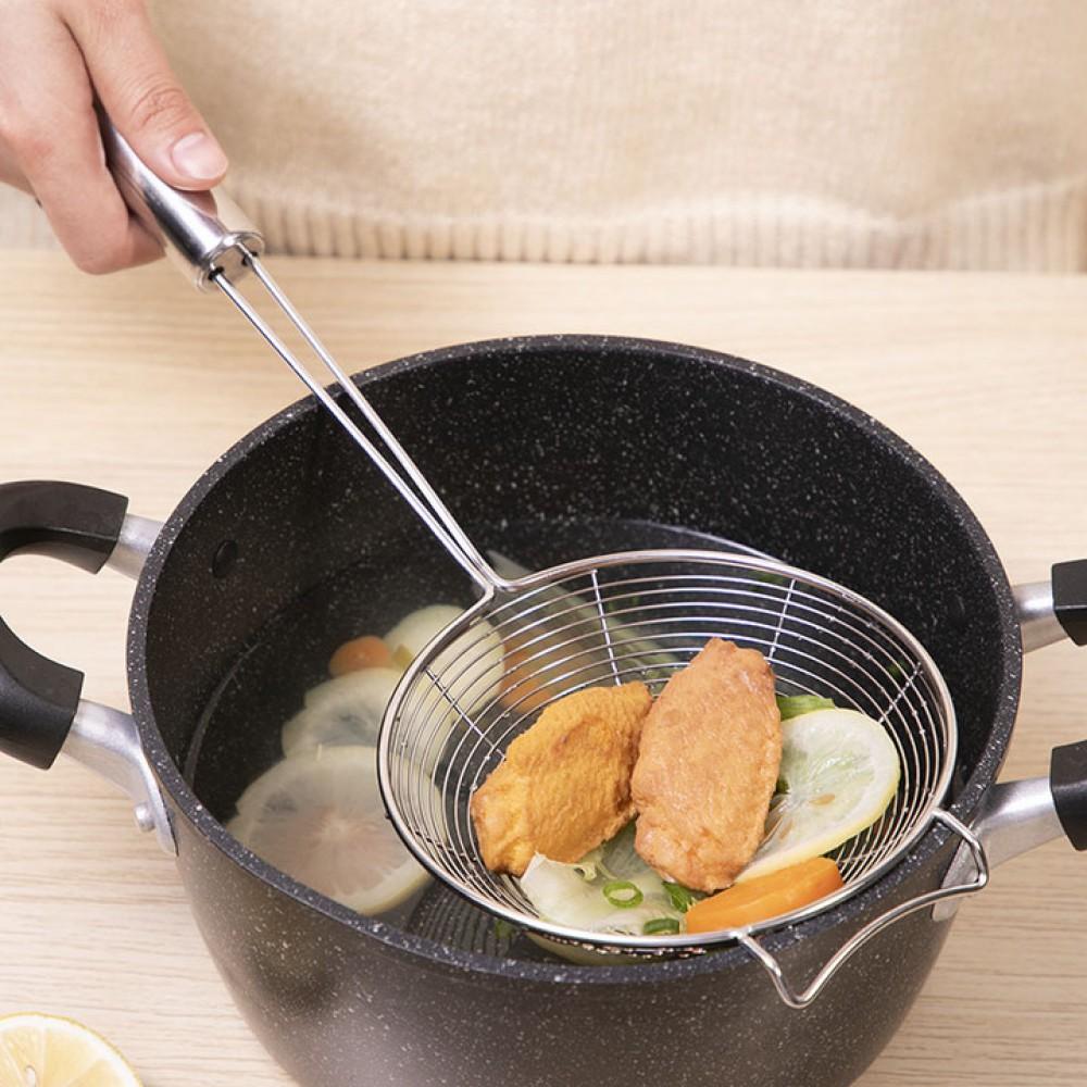 Muôi vớt thực phẩm inox 304 Miki MK-4239 xuất Nhật