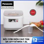 Nồi cơm điện cao tần Panasonic SR-AFY181WRA dung tích 1.8 lít sản xuất Nhật Bản - Bảo hành 12 tháng chính hãng
