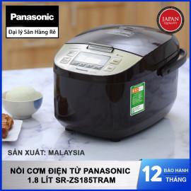 Nồi cơm điện tử Panasonic dung tích 1.8 lít SR-ZS185TRAM hàng chính hãng sản xuất tại Malaysia bảo hành 12 tháng