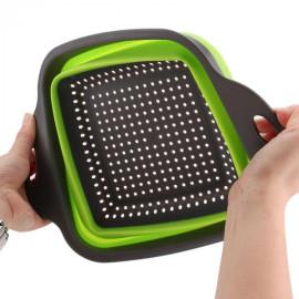 [SALE] Bộ 2 rổ silicon gấp gọn thông minh PR-JO2 quà tặng từ hãng Sharp
