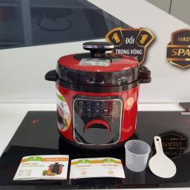 Nồi áp suất điện 5 lít Elmich Smart Cook Pressure Cooker PCS-1801 900W bảo hành 12 tháng