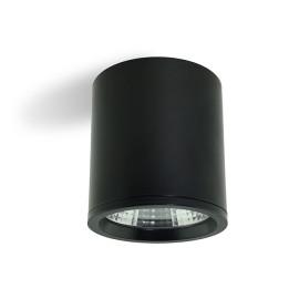 Đèn ống bơ chiếu rọi Kingled 15w vỏ đen (OBR-15)