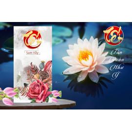 Bộ 10 phong bao lì xì Tết Nguyên Đán Việt Nam mẫu Hoa Sen