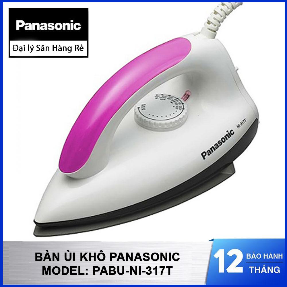 Bàn ủi khô Panasonic PABU-NI-317T công suất 1000W sản xuất tại Malaysia bảo hành 12 tháng