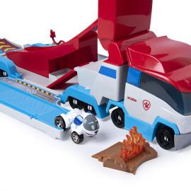 Xe chờ Mô hình cứu hộ Paw Patroller True Metal kèm xe chó Robodog (Box)