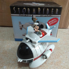 Mô hinh máy bay Storm Rider Disney Tokyo Resort Mickey Mouse chạy cót (Box)