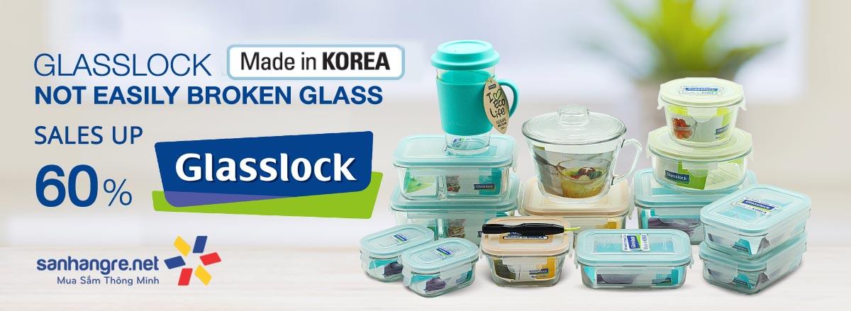 hộp thủy tinh Glasslock Hàn Quốc