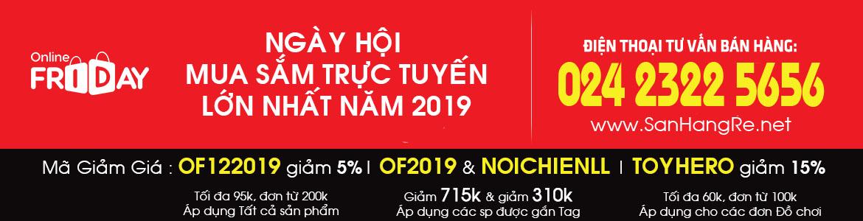 mã giảm giá SIÊU HOT NGÀY ONLINE FRIDAY 2019