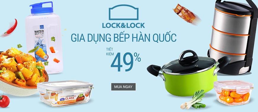 Mid year hàng ngàn sản phẩm Lock&lock giảm tới 49%