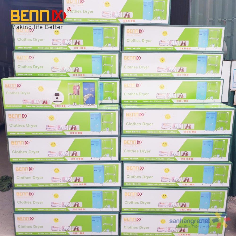 Máy sấy quần áo Bennix Thái Lan BN-115TA bảo hành 12 tháng