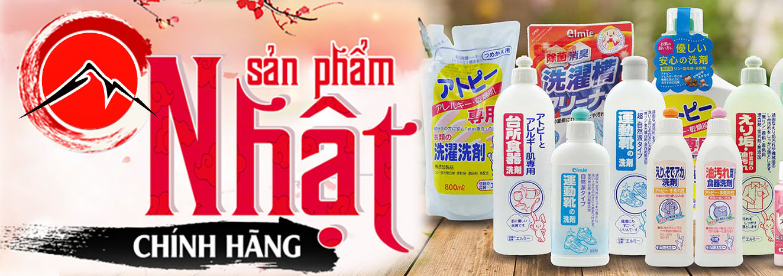Dung dịch tẩy rửa vệ sinh hàng Nhật