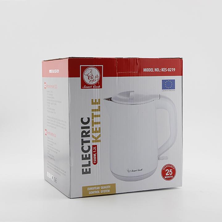 Ấm Đun Nước Siêu Tốc Elmich Smartcook 1200ml KES-0219