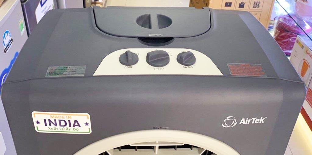 Máy làm mát không khí bằng hơi nước Airtek AT810PM sản xuất tại Ấn Độ - Hàng chính hãng bảo hành 12 tháng