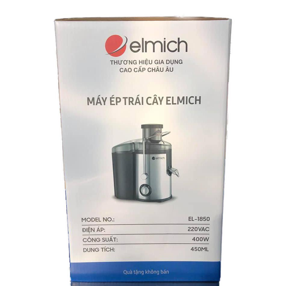 Máy ép trái cây Elmich EL-1850 công suất 400W bảo hành 12 tháng