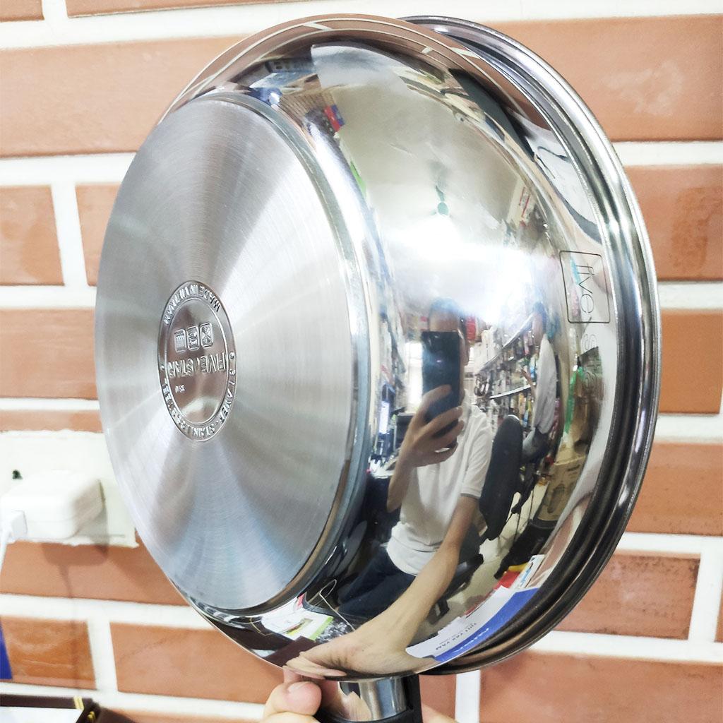 Chảo chống dính sâu lòng Inox 3 đáy Fivestar FSCL26IN002 đường kính 26cm