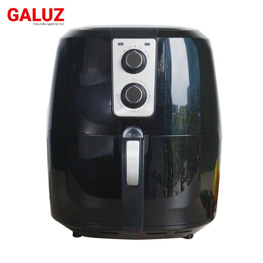 Nồi chiên không dầu 5.2 lít Galuz GLA-615 công suất 1800W nhập khẩu, bảo hành 18 tháng