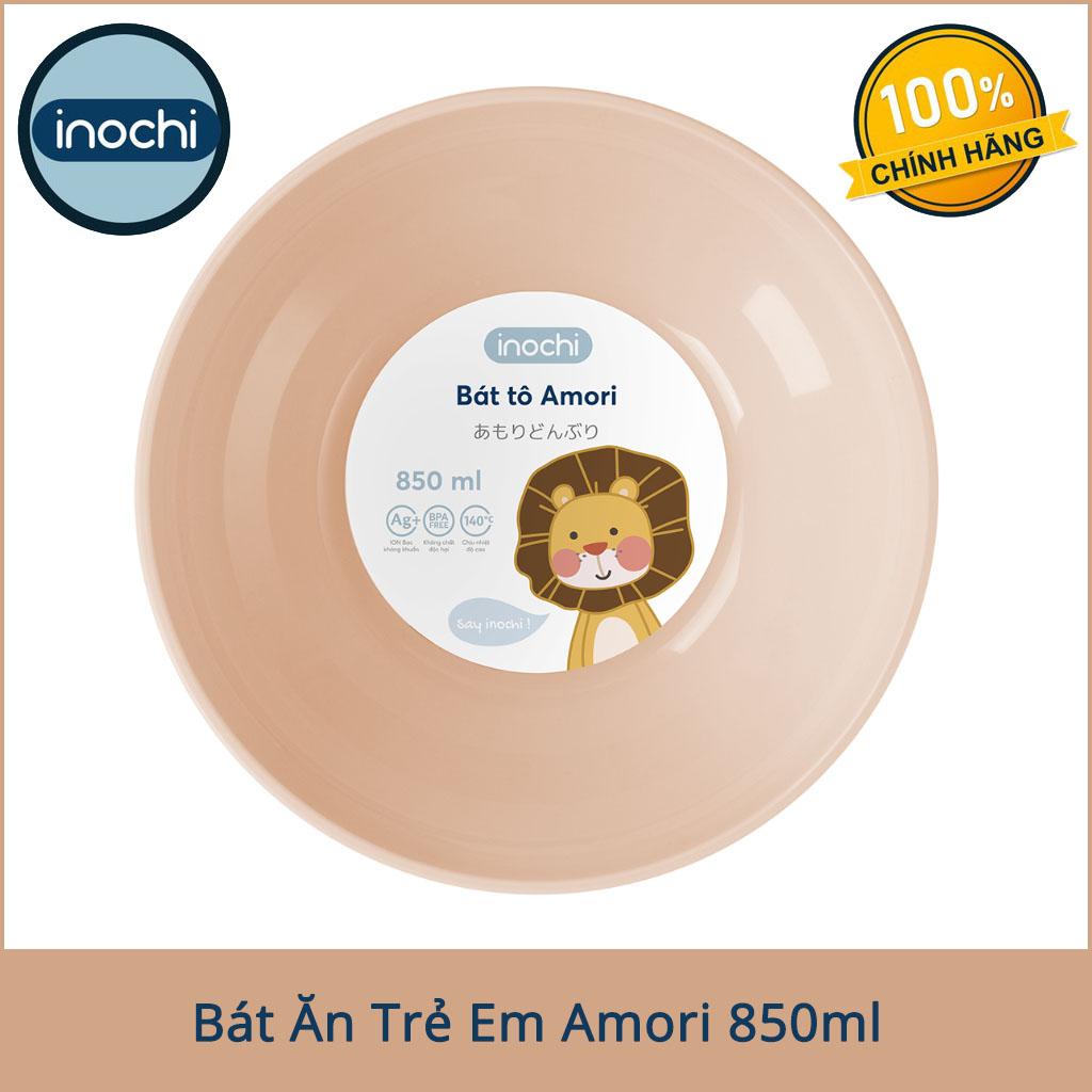 Bát tô trẻ em Inochi Amori dung tích 850ml màu hồng