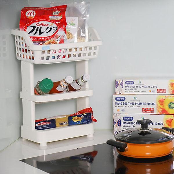 Kệ 3 tầng đa năng Inochi Nachi Plus hàng xuất Nhật