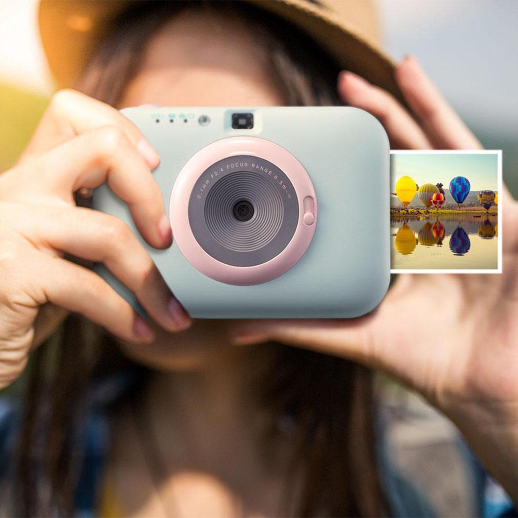 Máy ảnh chụp lấy ngay LG Pocket Photo Snap PC389 tặng Hộp giấy in 36 tấm